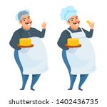 cheese maker. professional chef ...   Shutterstock .eps vector #1402436735