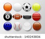 sports balls | Shutterstock .eps vector #140243836