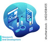 illustration market research ...   Shutterstock .eps vector #1402458455