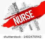 nurse word cloud collage ...   Shutterstock .eps vector #1402470542