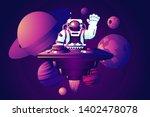 Universe Party. Dj Astronaut....