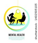 psychologist  psychotherapist...   Shutterstock .eps vector #1402505105