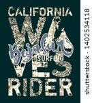 baja sur california surf wave...   Shutterstock .eps vector #1402534118