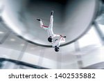 Sky Diving In Wind Tunnel....