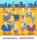 cartoon illustration of happy...   Shutterstock .eps vector #1402599872