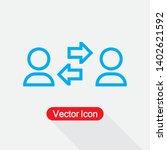 communication icon vector...   Shutterstock .eps vector #1402621592