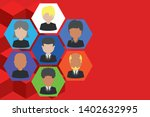 picture frames chief executive...   Shutterstock .eps vector #1402632995