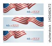 flag of united states of...   Shutterstock .eps vector #1402682672