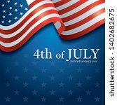 flag of united states of...   Shutterstock .eps vector #1402682675