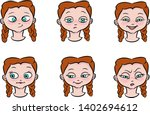 set of hand drawn vector... | Shutterstock .eps vector #1402694612
