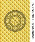 electrocardiogram icon inside... | Shutterstock .eps vector #1402723478