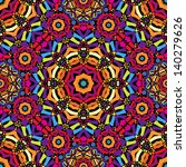 Seamless Kaleidoscope Pattern ...
