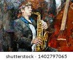 A Young Musician In A Tuxedo...