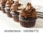 Homemade Chocolate Cupcake With ...
