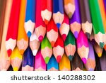 colour pencils isolated on... | Shutterstock . vector #140288302