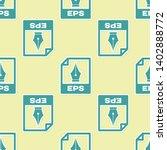 green eps file document icon.... | Shutterstock .eps vector #1402888772