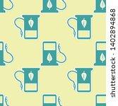 green bio fuel concept with... | Shutterstock .eps vector #1402894868