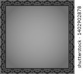 decorative frame elegant vector ... | Shutterstock .eps vector #1402902878