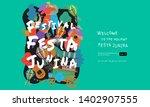 festa junina  vector...   Shutterstock .eps vector #1402907555
