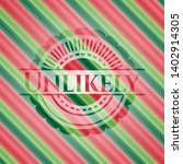 unlikely christmas colors... | Shutterstock .eps vector #1402914305