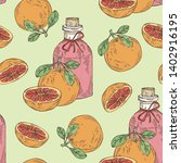 seamless pattern with... | Shutterstock .eps vector #1402916195