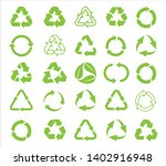 recycle icon vector. recycle... | Shutterstock .eps vector #1402916948