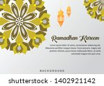 ramadhan background mandala... | Shutterstock .eps vector #1402921142