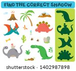 find the correct shadow ... | Shutterstock .eps vector #1402987898
