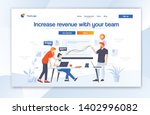 creative website template... | Shutterstock .eps vector #1402996082