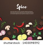 spice and vegetable foods...   Shutterstock .eps vector #1403098592