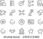 set of communication icons ... | Shutterstock .eps vector #1403113382