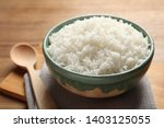 Bowl Of Tasty Cooked Rice...
