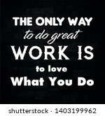 motivational quotes for life  ... | Shutterstock . vector #1403199962