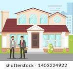 new property purchasing flat... | Shutterstock .eps vector #1403224922