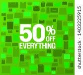 50  off sale banner design... | Shutterstock .eps vector #1403225915