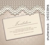 vintage vector background with... | Shutterstock .eps vector #140323846