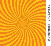 Orange Hypnotic Background....