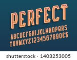 perfect decorative letters with ... | Shutterstock .eps vector #1403253005