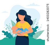 Breastfeeding Illustration ...