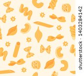 seamless pattern of traditional ... | Shutterstock .eps vector #1403284142