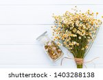 composition aromatherapy with... | Shutterstock . vector #1403288138