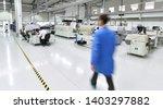 modern industrial factory for... | Shutterstock . vector #1403297882