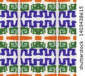 tibetan fabric. abstract... | Shutterstock . vector #1403438615