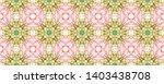 tibetan fabric. abstract batik... | Shutterstock . vector #1403438708