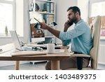 using modern technologies.... | Shutterstock . vector #1403489375