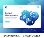 landing page project management ...