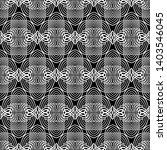design seamless monochrome grid ... | Shutterstock .eps vector #1403546045