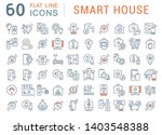 collection linear icons of... | Shutterstock .eps vector #1403548388