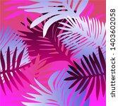 tropical botanical seamless...   Shutterstock .eps vector #1403602058