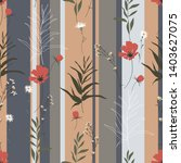 blossom floral seamless pattern....   Shutterstock .eps vector #1403627075